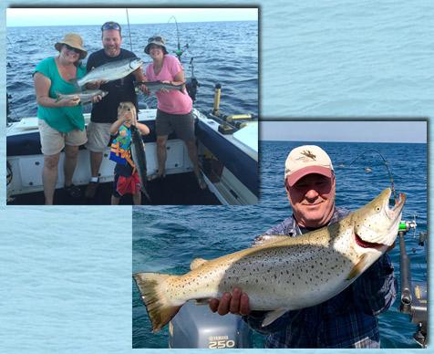 Little Bays de Noc Fishing Charter Rates