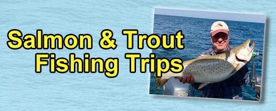Michigan Fishing Trips - Salmon & Trout Fishing Trips - GET OUR CHARTER RATES